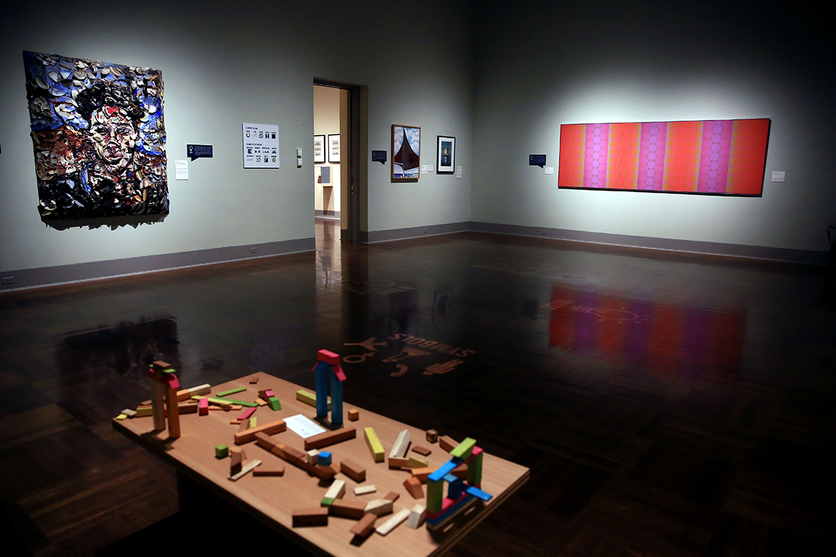 Gallery 5, part of the Speaking Visual Exhibition