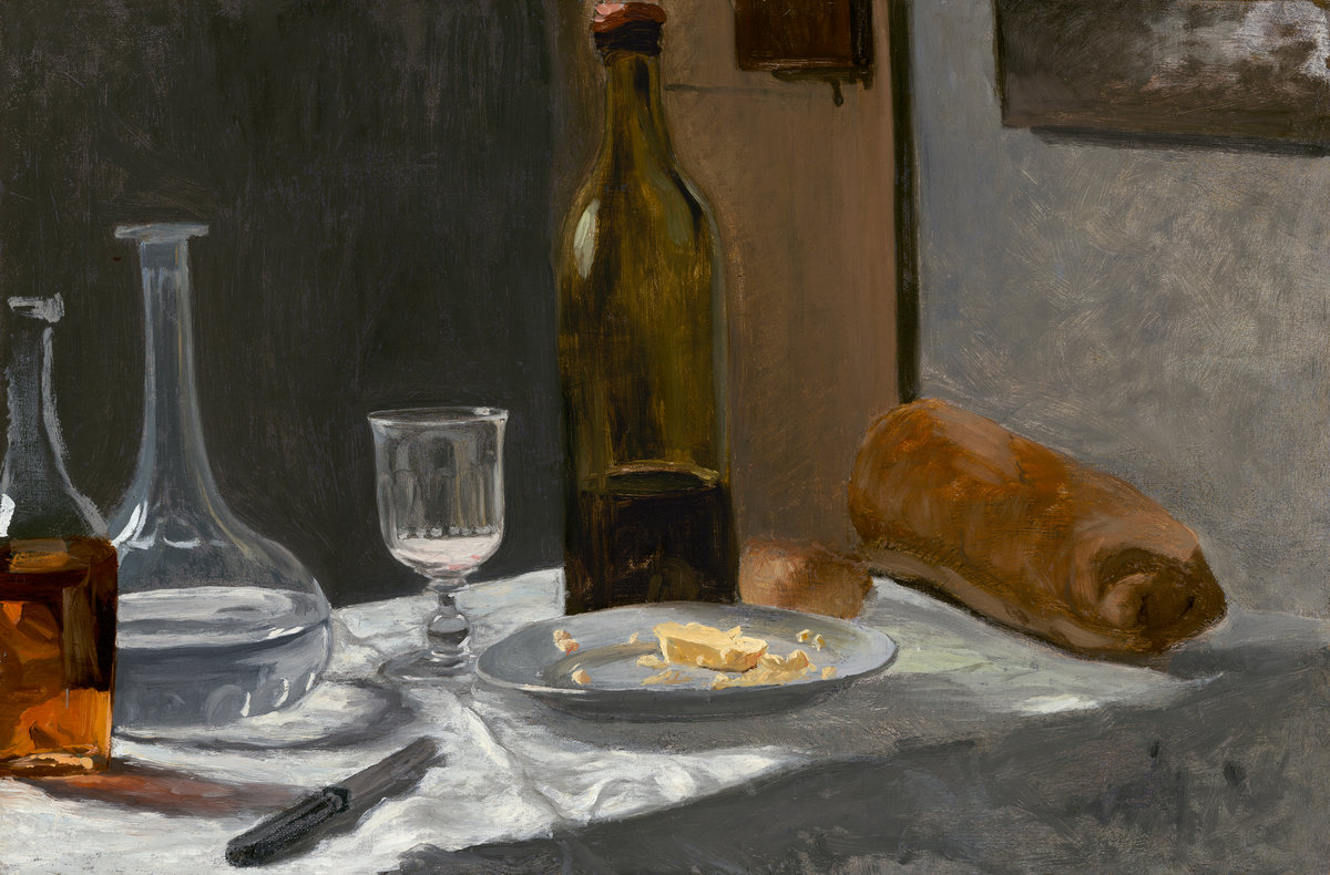 Image result for *ONE EACH: Still Lifes by Pissarro, Cézanne, Manet & Friends