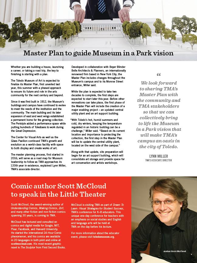 artmatters, toledo museum of art, magazine