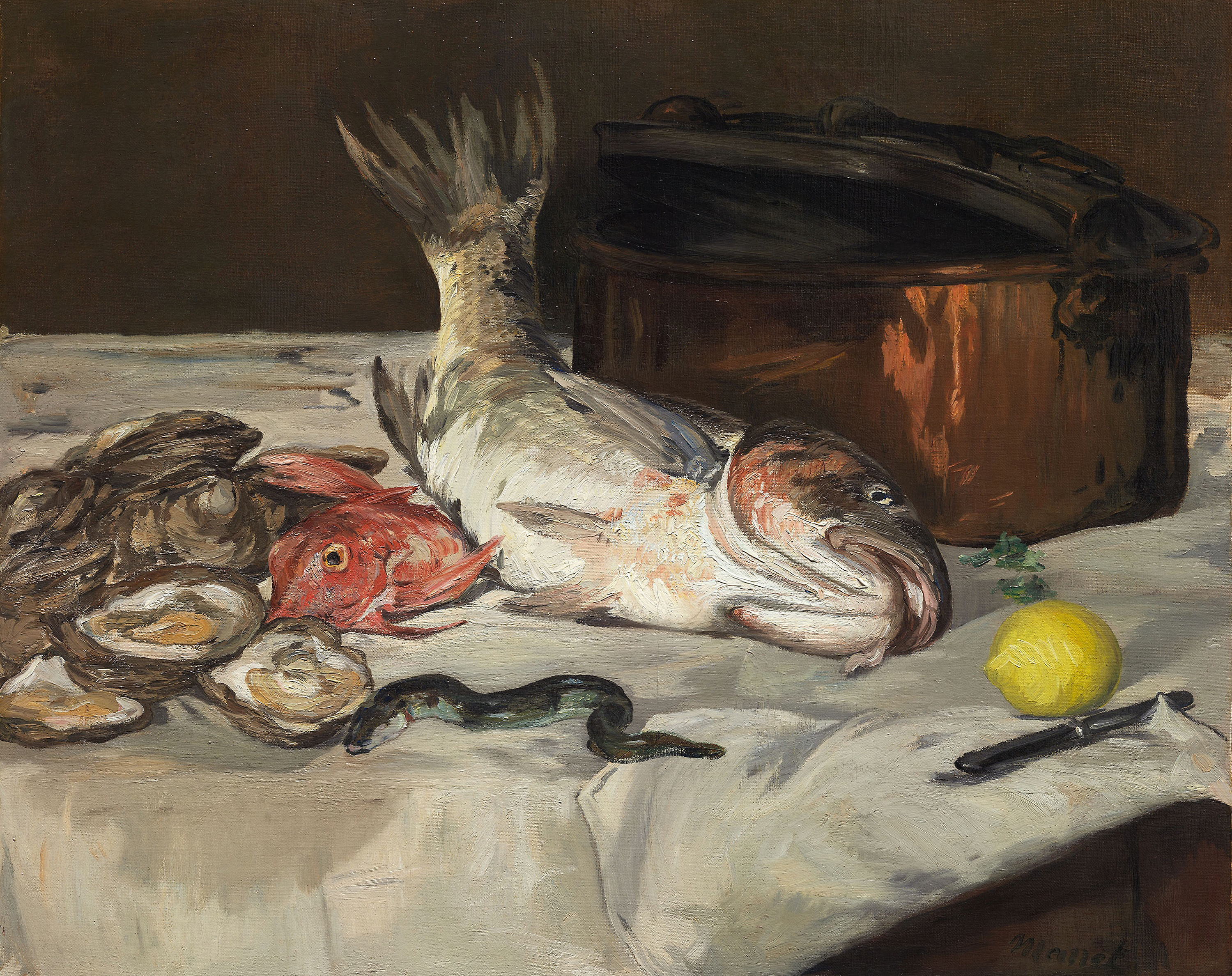 Image result for Édouard Manet, *ONE EACH: Still Lifes by Pissarro, Cézanne, Manet & Friends