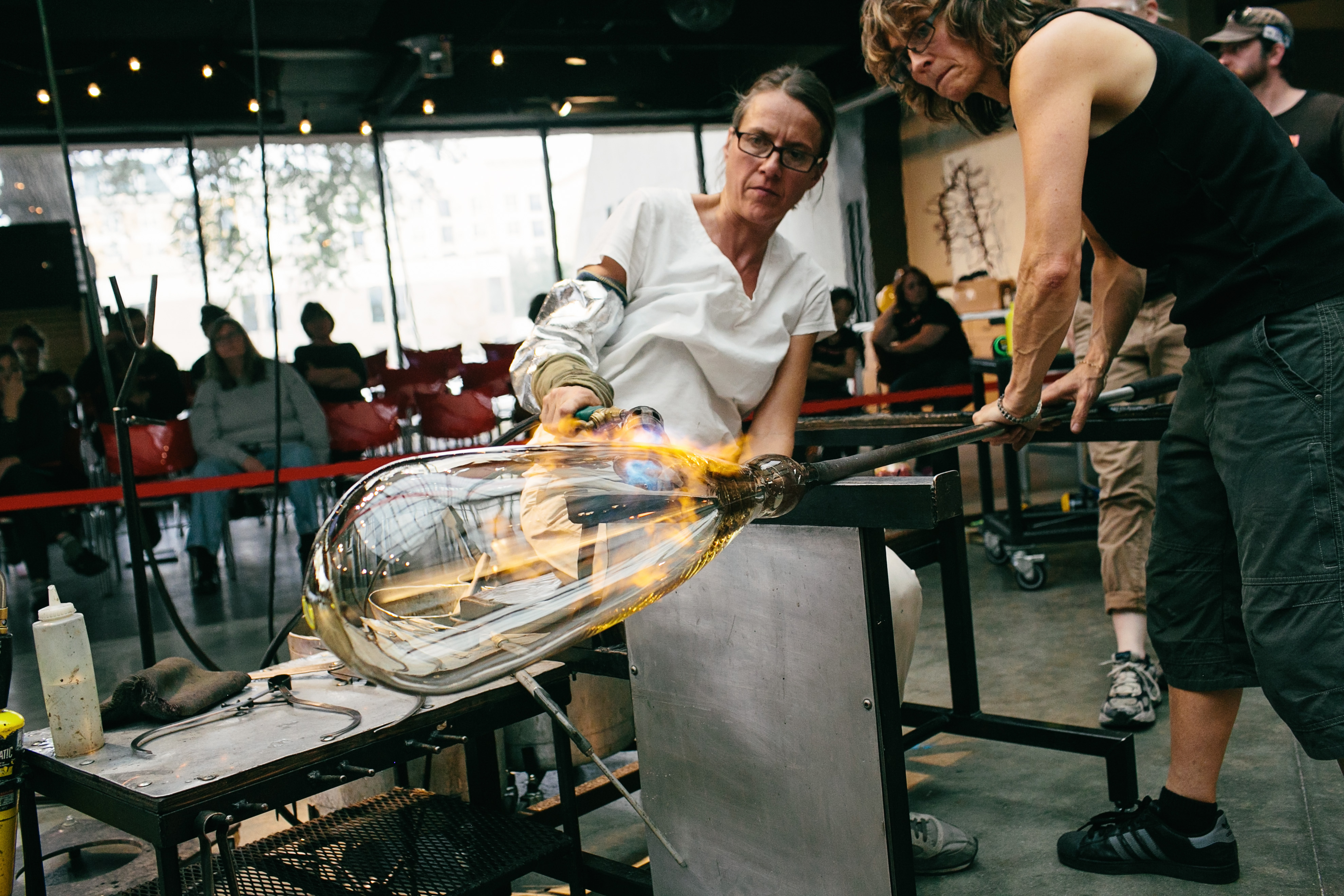 Katherine Gray, Being in a Hot Shop, Hot Shop, Toledo Museum of Art, TMA, Glass Art