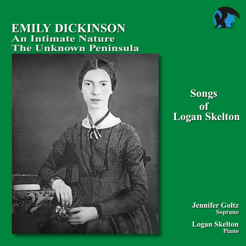 album cover for Logan Skelton songs about Emily Dickinson