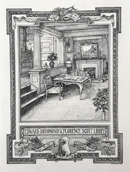 bookplate, Libbey