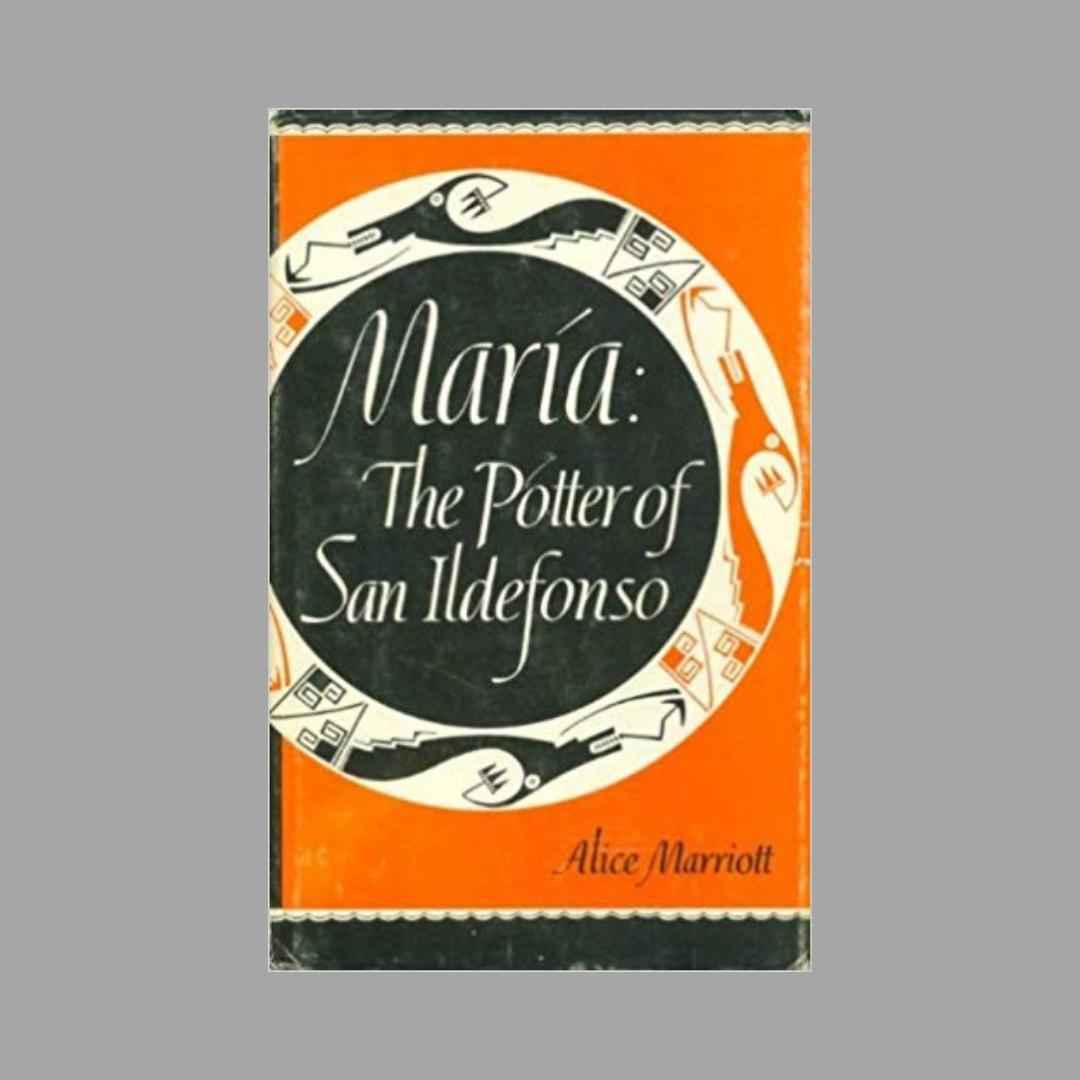 art book club, book jacket, Maria the potter