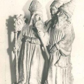 artwork title: Nobleman, Bishop, and Crozier