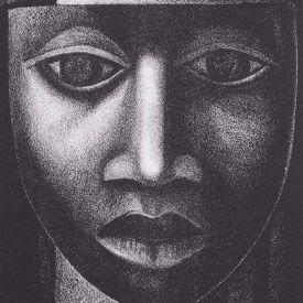 artwork title: Negro es Bello II