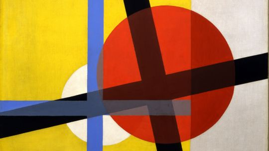 László Moholy-Nagy (Hungarian, 1895-1946), Am2, 1925. Oil on canvas. Toledo Museum of Art, Purchased with funds from the Libbey Endowment, Gift of Edward Drummond Libbey, 1996.20.