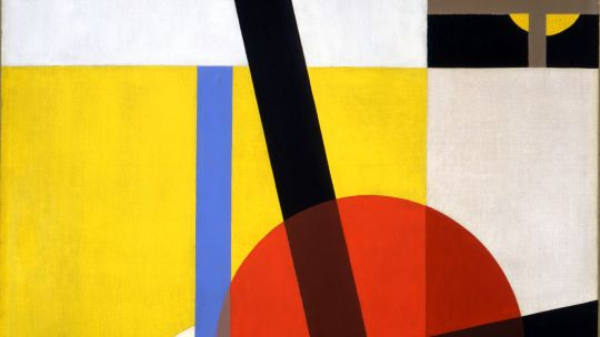 László Moholy-Nagy (Hungarian, 1895-1946), Am2, 1925. Oil on canvas. Toledo Museum of Art, Purchased with funds from the Libbey Endowment, Gift of Edward Drummond Libbey, 1996.20