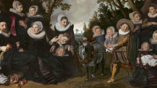 frans hals portraits, a family reunion, toledo, toledo museum of art, dutch