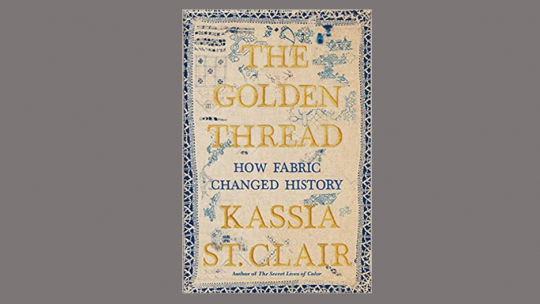 Book jacket for Golden Thread