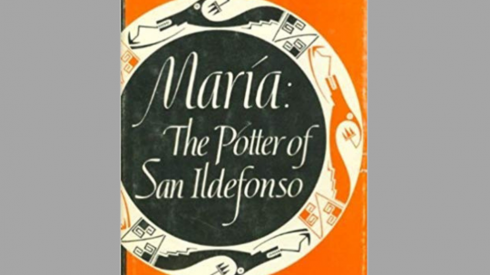 art book club, book jacket, Maria the potter