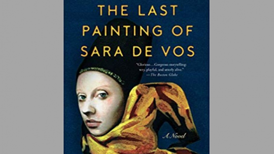 Sara de Vos book jacket cover