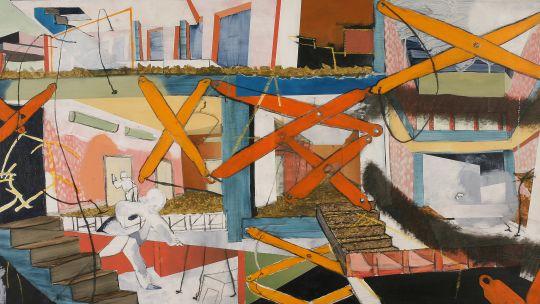 Andrew Maurer, Hotel. Mixed Media. Toledo Federation of Art Societies, 2008