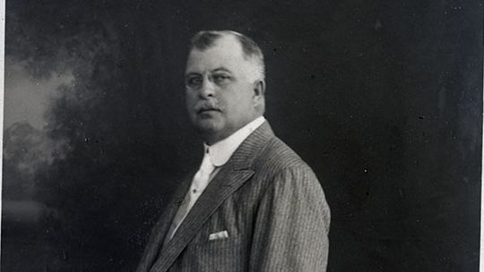 Edward Drummond Libbey (1854–1925), about 1910. Toledo Museum of Art Archives