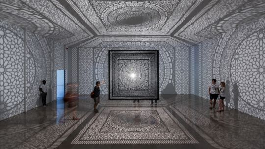 Anila Quayyum Agha, artist, intersections, between light and shadows, toledo, toledo museum, toledo museum of art, tma