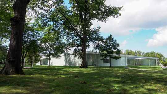 Toledo Museum Glass Pavilion in the Summer
