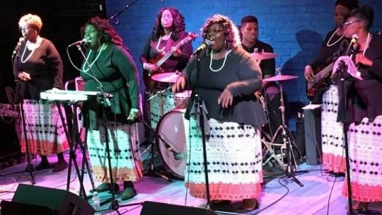 Sacred Steel band Nikki D and the Browns