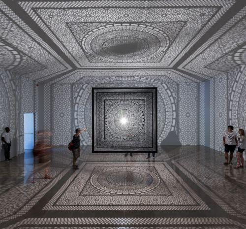 Anila Quayyum Agha, artist, intersections, between light and shadows, toledo, toledo museum, toledo museum of art, tma