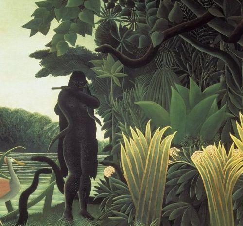 henri rousseau, toledo museum of art, snake charmer