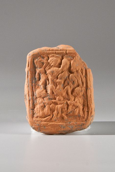 Plaque with figures (Gifted)