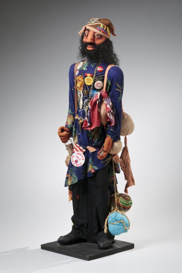 Faith Ringgold (American, born 1930), Ben.Soft sculpture, mixed media, about 1978. Gift of Barbara Sunderman Hoerner, 2012.12