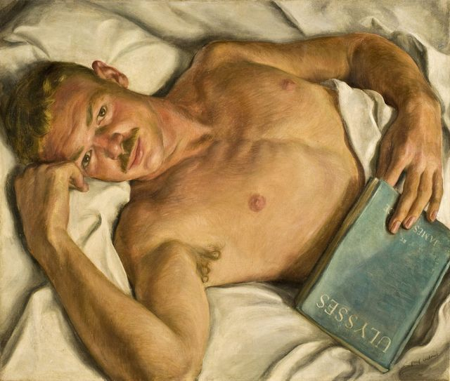 Paul Cadmus (American, 1904-1999), Jerry. Oil on canvas, 1931. Purchased with funds from the Libbey Endowment, Gift of Edward Drummond Libbey, 2008.140. Gallery 6.