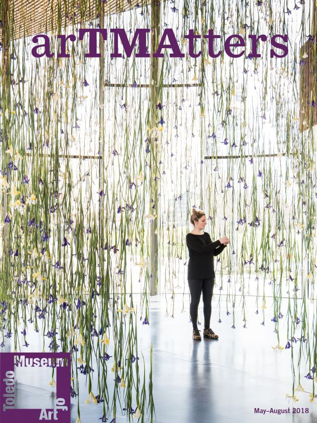 Cover of the 2018 May-August Art Matters Magazine