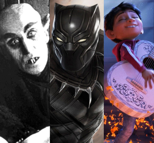 Nosferatu, Black Panther, Coco, Toledo, Film, Screenings, Halloween